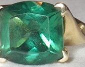 Vintage 14K Gold Emerald Ring