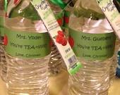 Teacher TEA-rrific Water Bottle Label KIT