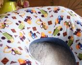 Boppy Pillow Cover: Dump Trucks