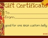 Small Business Saturday Gift Certificate