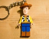Lego Woody from Toy Story Key Chain