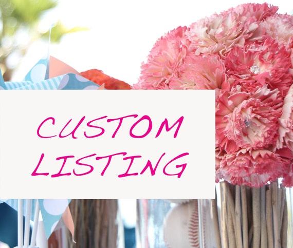 Custom order deposit for Cindy Ng