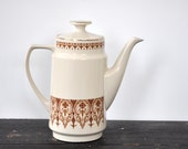 Reserved for Sharon - Chinese white coffee tea pot