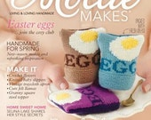 Mollie Makes Magazine - Issue 12 - with Crochet Flower Brooch Kit