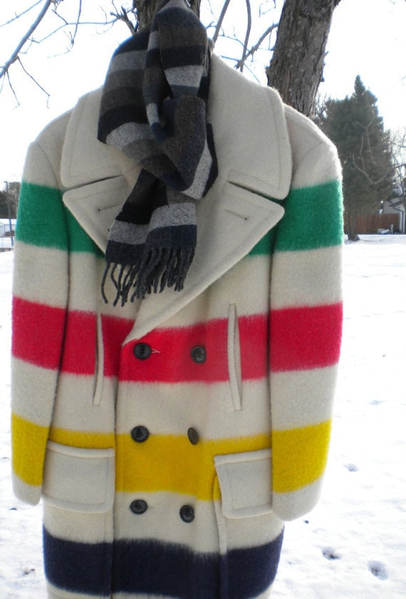 Made from Hudson's Bay point blankets, these striped coats are iconically Canadian. The blanket design was introduced in the late s by the HBC, and the material was soon adapted into coats .