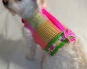 Dog Harness Dog Clothes Citrus Plaid Dog Harness pet clothing dog clothing pet clothes dog apparel dog clothes