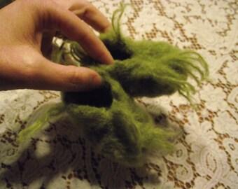 Baby Grinch Feet-
