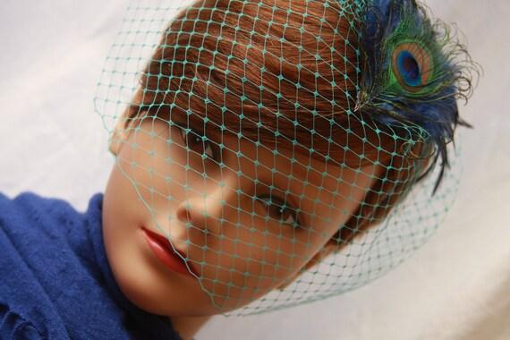Peacock Headband Fascinator