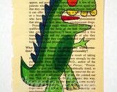 Dragon Lowbrow Outsider Art