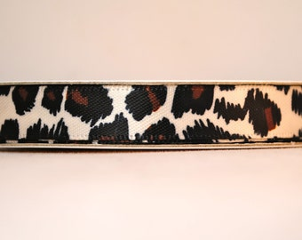 Leopard- 10 Yards - 3/8 inches wide