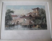Set of 4 Vintage Illustrations of China by artist Thomas Allom 1800