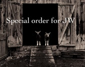 """Special order for JW- 16x20"""" print"""