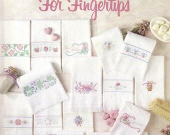 Cross Stitch Pattern Leaflet: A Flower Garden For Fingertips