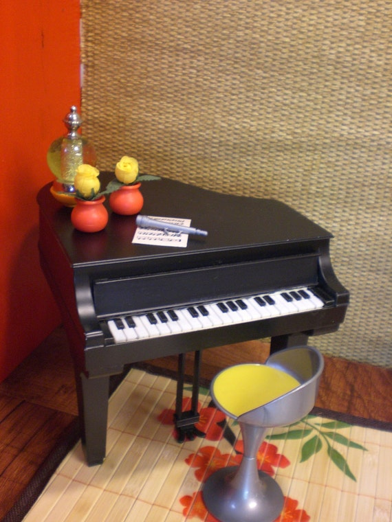 Barbie Doll House Piano Sushi Bar Funky Modern By