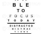 Focus Poster - Digital Print