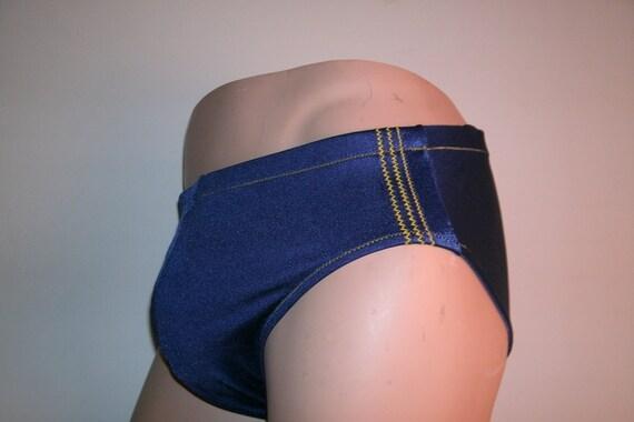 Mens nylon spandex swimsuit Lg  34-38