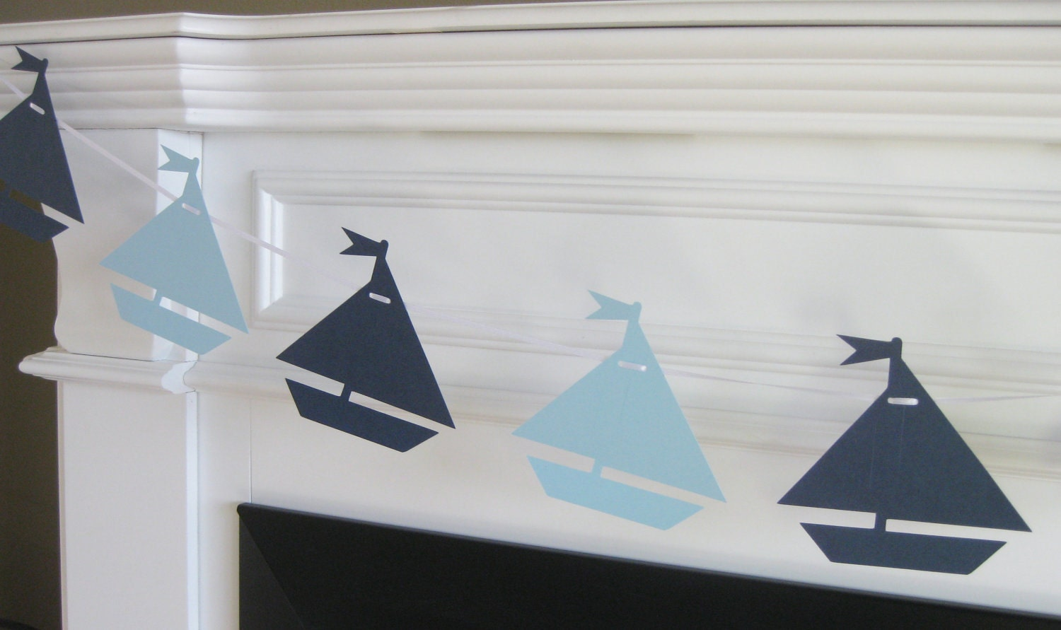 sailboat nautical theme baby shower or by dreampartypaperie