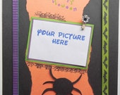 Premade Halloween Scrapbook Page, 12x12