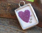 Blessed Mama Soldered Charm