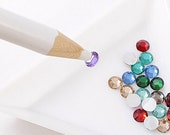 Rhinestone Tool Magic Picker Crystal Grabber Wax Pencil to Grab Cabochons Flatbacks with ease