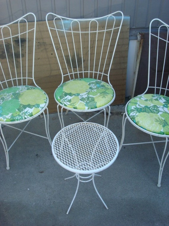 Vintage Patio Furniture Lawn Outdoor Set