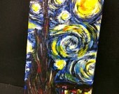 Starry Night Van Gogh iPhone 4 case (Made to Order)