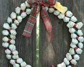 Dog Bone Wreath Edible