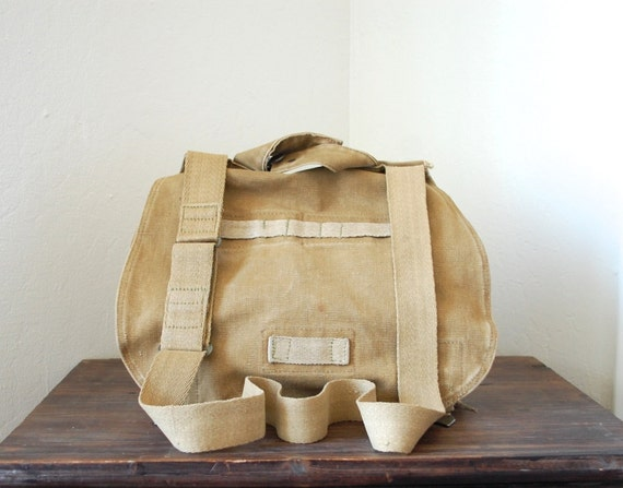 4 for 20 Vintage European Army Canvas Messenger Bag - Perfect for iPad