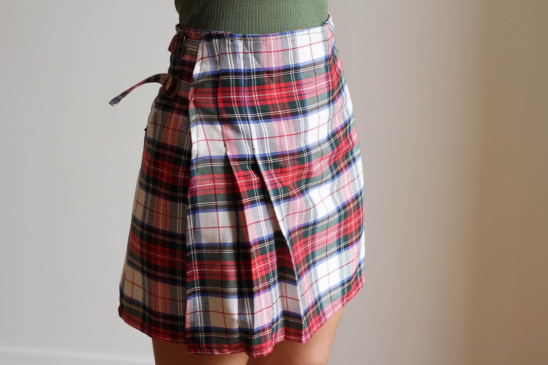 scottish pleated skirt 2 jupe pliss e cossaise 2. Black Bedroom Furniture Sets. Home Design Ideas