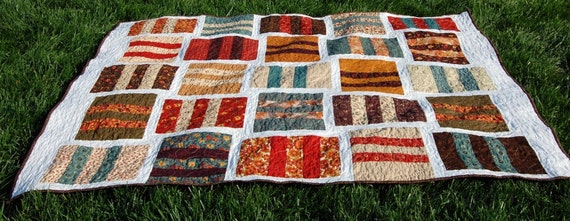 Fall Quilt, Free US Shipping