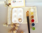 DIY Wooden Acorns and Paint Kit in a Bag Autumn Arts and Crafts Kit for Kids