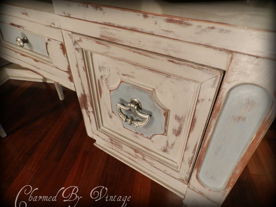 French Provincial Desk Vanity (RESERVED and SOLD to JESSICA)