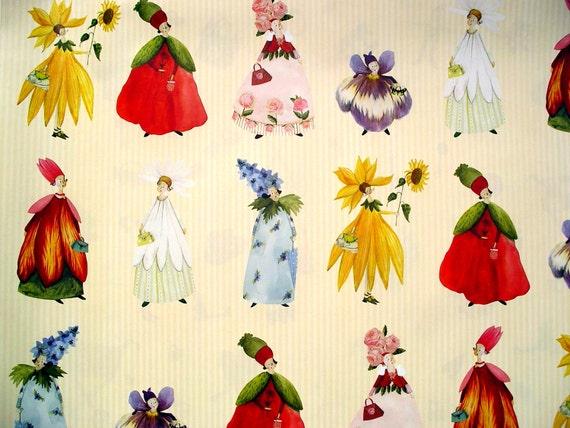 """Designer Paper - Silke Leffler Design GP12067 """"BLÜTENFRAUEN"""""""