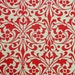 "Italian Paper - CARTA VARESE Design R190 - ""Zierornament rot"""