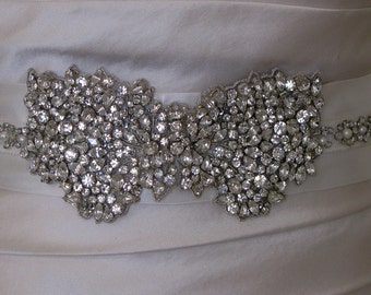 Jewelled bridal belt or crystal sash - Faberge