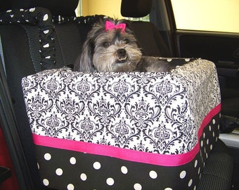 Dog Car Seat Small ***CUSTOM - You pick all options!*** by FancyFido