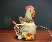 Fisher Price Cacking Hen No 120 - Free Shipping