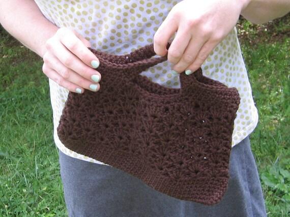 brown clutch purse