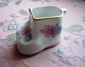 Vintage Italian Porcelain shoe