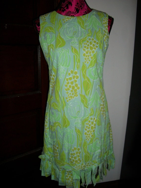 Cute fruit print mini dress by The Lilly Size M