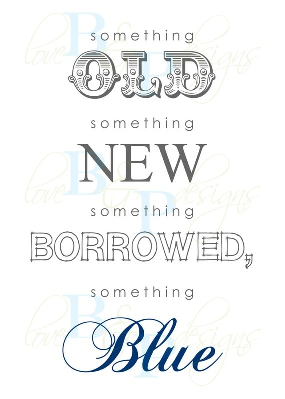 wedding ideas for something old new borrowed and blue etsy your place to buy and sell all things handmade 28167