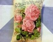 Scotts Roses  Vintage Style Cushion Pillow