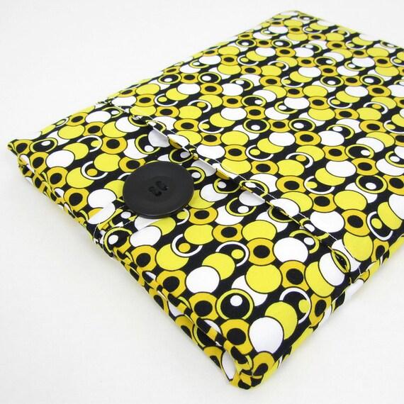 Cool iPad 3 Case, iPad 2 Case Sleeve, Padded - Beautiful Fabric With An Art Deco Flare.