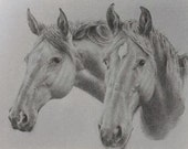 "Limited Edition Print of ""Two Horses"" by KAI"