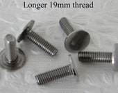 Longer 6mm Flat Head Bolt / Screw x 5 for Rimless Bottom Plate Cake Stand Handle / fitting / Hardware