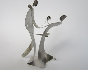 Wedding Gifts - Stainless Steel Sculpture - SHALL WE DANCE