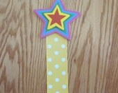 Ribbon Poster Holder for the Classroom/Hairbow Holder Star