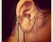Ear Cuff W/Chains