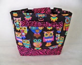 Girls Scripture Bag or Tote  Cute little Owls