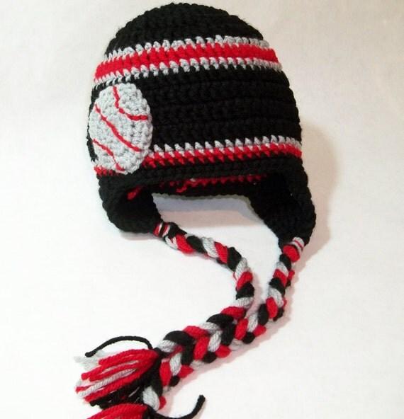 Crocheted basket ball beanie   Portland Trailblazers or Any Team, any size, any color